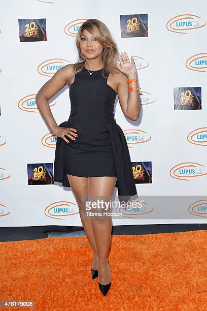 Toni Braxton attends Lupus LA's Orange Ball A Night of Superheroes at Fox Studio Lot on June 6 2015 in Century City California