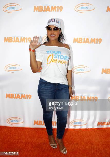 Toni Braxton attends Michael B. Jordan's MBJAM at Dave & Buster's Hollywood on July 27, 2019 in Hollywood, California.
