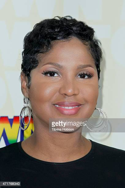 Toni Braxton attends 'Motown The Musical' opening night at the Pantages Theatre on April 30, 2015 in Hollywood, California.