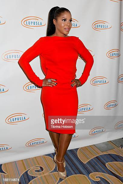 Toni Braxton attends the 10th annual Lupus LA Hollywood Bag Ladies Event at the Beverly Wilshire Four Seasons Hotel on November 1 2012 in Beverly...