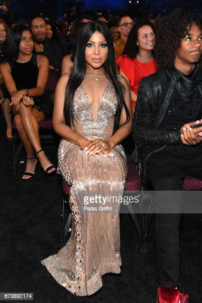 Toni Braxton attends the 2017 Soul Train Awards presented by BET at the Orleans Arena on November 5 2017 in Las Vegas Nevada