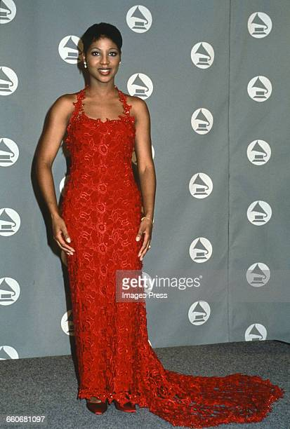 Toni Braxton attends the 36th Annual Grammy Awards held at Radio City Music Hall circa 1994 in New York City