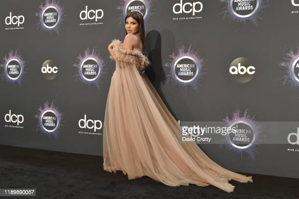 Toni Braxton attends the 47th Annual American Music Awards® - Press Room at Microsoft Theater on November 24, 2019 in Los Angeles, California.