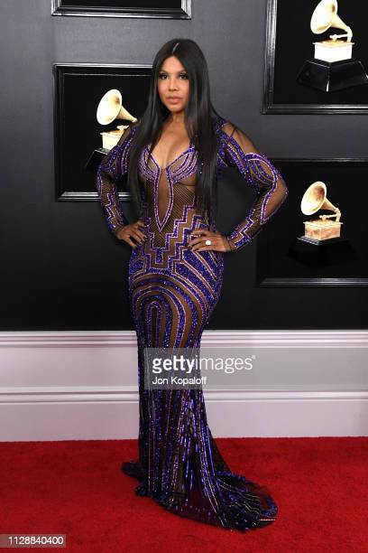 Toni Braxton attends the 61st Annual GRAMMY Awards at Staples Center on February 10, 2019 in Los Angeles, California.