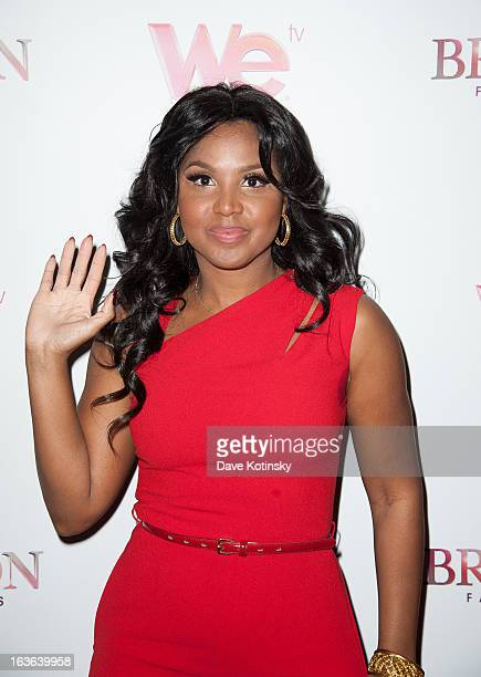 "Toni Braxton attends the ""Braxton Family Values"" Season Three premiere party at STK Rooftop on March 13, 2013 in New York City."
