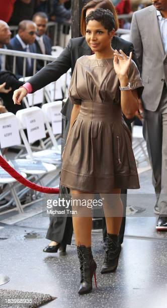 Toni Braxton attends the ceremony honoring Kenny Babyface Edmonds with a Star on The Hollywood Walk of Fame on October 10 2013 in Hollywood California