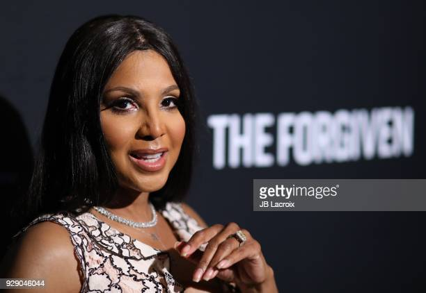 Toni Braxton attends the premiere Of Saban Films' 'The Forgiven' held at Directors Guild Of America on March 7, 2018 in Los Angeles, California.