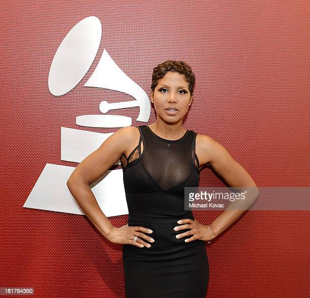 Toni Braxton attends The Recording Academy presentation of A Conversation with Toni Braxton and Babyface at The Recording Academy on September 24,...