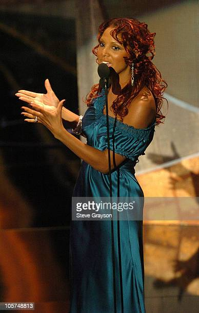 Toni Braxton during 10th Annual Soul Train Lady of Soul Awards Show at Pasadena Civic Auditorium in Pasadena California United States