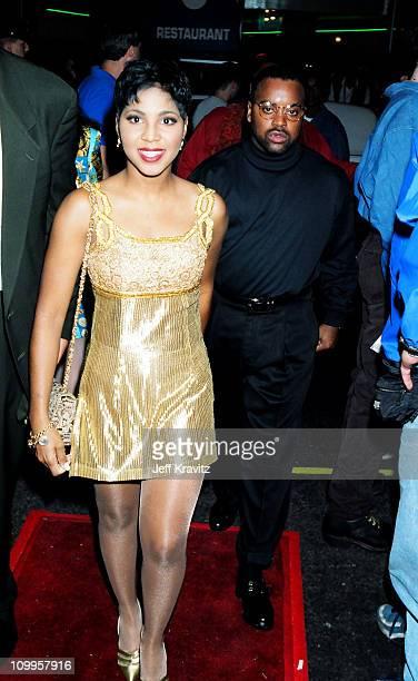 Toni Braxton during 1994 MTV Video Music Awards at Radio City Music Hall in New York City New York United States