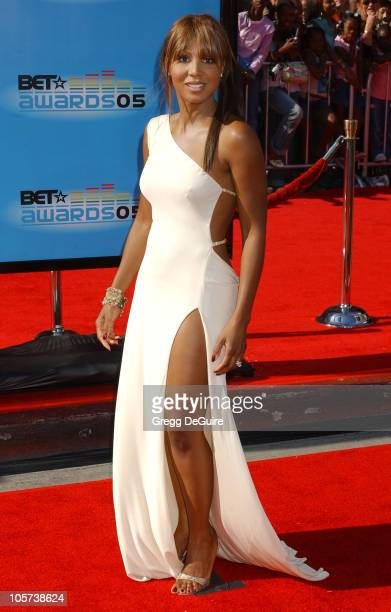 Toni Braxton during 2005 BET Awards Arrivals at Kodak Theatre in Hollywood California United States