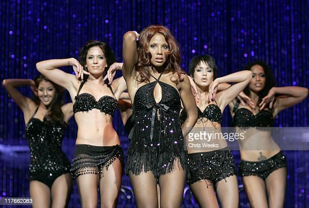 "Toni Braxton during Premiere of Toni Braxton's ""Revealed"" at The Flamingo - Show at Flamingo in Las Vegas, Nevada, United States."