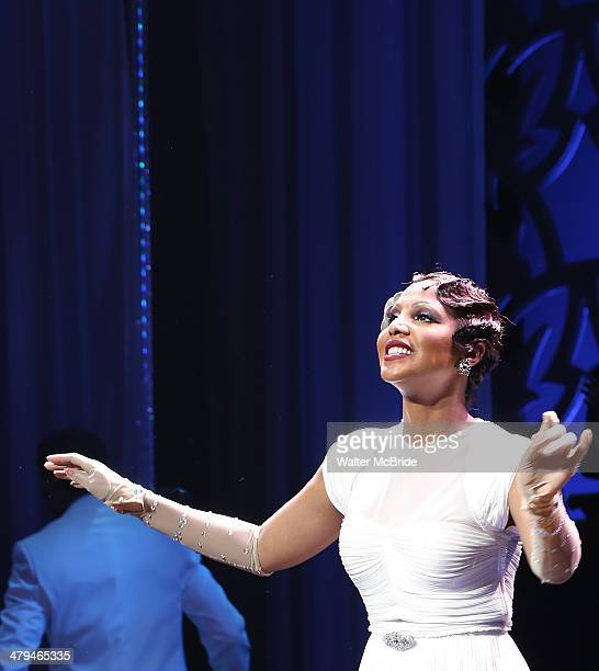 Toni Braxton joins the cast of Broadway's After Midnight at The Brooks Atkinson Theatre on March 18 2014 in New York City