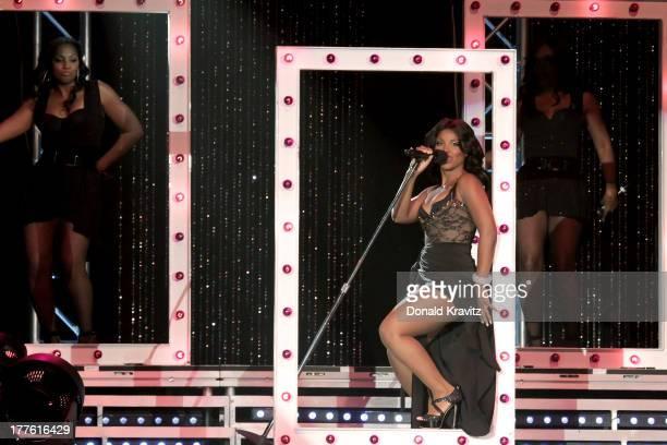 Toni Braxton performs at Mark G Etess Arena Trump Taj Mahal on August 24 2013 in Atlantic City New Jersey