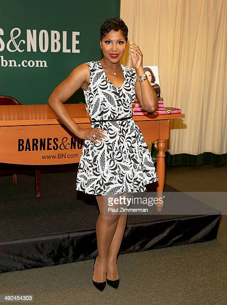 Toni Braxton promotes Unbreak My Heart A Memoir at Barnes Noble 5th Avenue on May 20 2014 in New York City