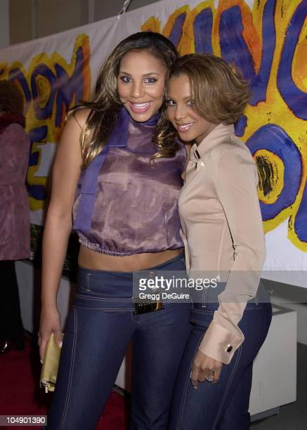 Toni Braxton sister Tamara during Hollywood Premiere of Kingdom Come in Hollywood California United States