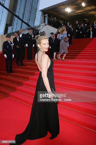 Toni Colette arrives at the premiere of 'Zodiac' during the 60th Cannes Film Festival