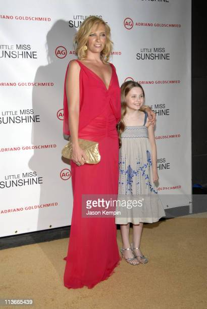 Toni Collette and Abigail Breslin during Little Miss Sunshine New York Premiere Inside Arrivals at AMC Loews Lincoln Square in New York City New York...