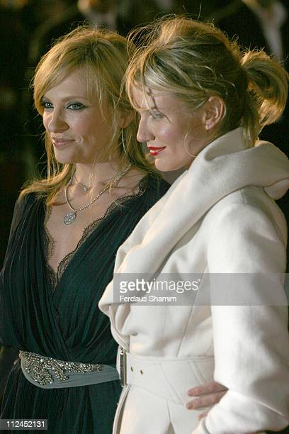 "Toni Collette and Cameron Diaz during ""In Her Shoes"" London Premiere - Outside Arrivals at Empire Leicester Square in London, Great Britain."