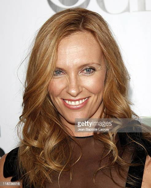 Toni Collette arrives at the 2009 TCA Summer Tour CBS CW and Showtime AllStar Party at the Huntington Library on August 3 2009 in Pasadena California