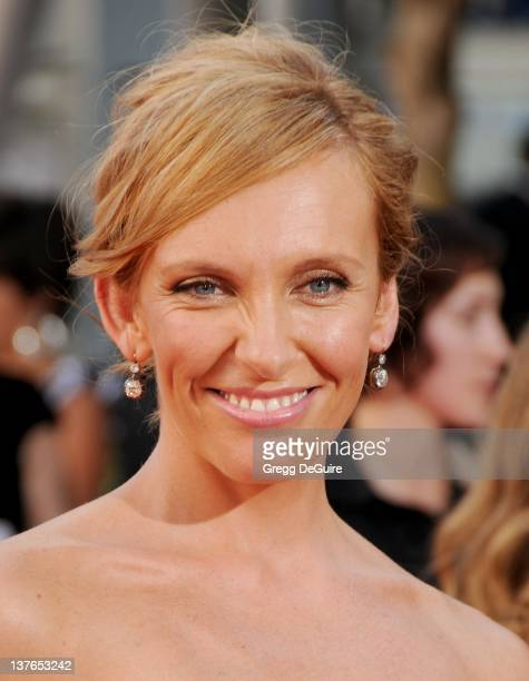 Toni Collette arrives at the 61st Primetime Emmy Awards held at the Nokia Theatre on September 20 2009 in Los Angeles California