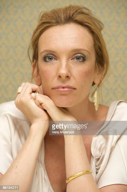Toni Collette at 'The United States of Tara' press conference at the Four Seasons Hotel on January 13 2009 in Beverly Hills California