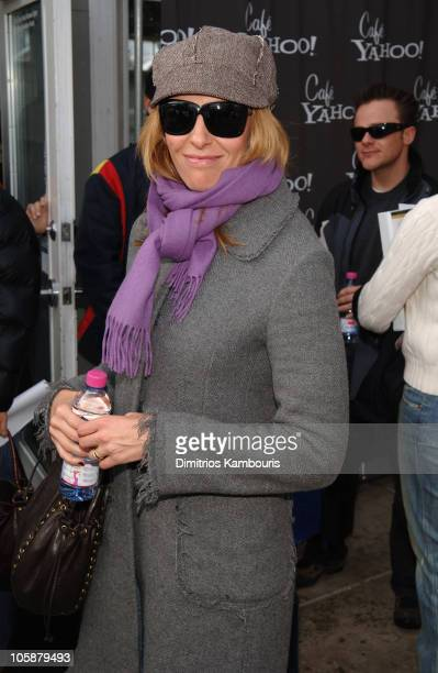 Toni Collette at Yahoo Cafe during 2006 Park City Cafe Yahoo and W Hotel Lounge at Village at the Lift Day 5 at Village at the Lift in Park City Uath...