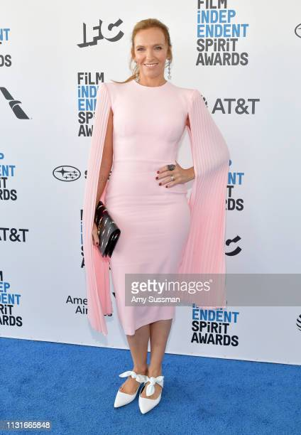 Toni Collette attends the 2019 Film Independent Spirit Awards on February 23 2019 in Santa Monica California