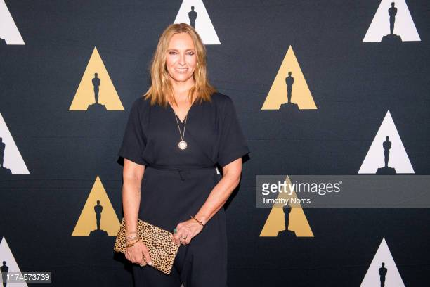 Toni Collette attends The Academy Celebrates Muriel's Wedding 25th Anniversary at Samuel Goldwyn Theater on September 13 2019 in Beverly Hills...