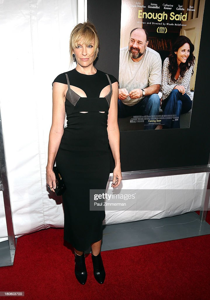 Toni Collette attends the 'Enough Said' New York Screening at Paris Theater on September 16, 2013 in New York City.