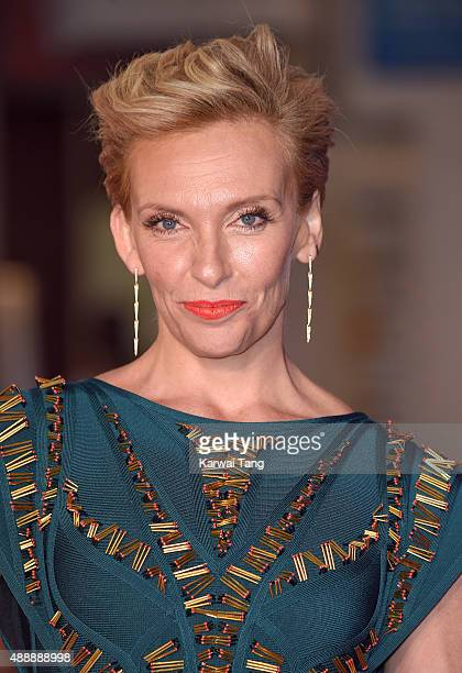 Toni Collette attends the European Premiere of 'Miss You Already' at Vue West End on September 17 2015 in London England
