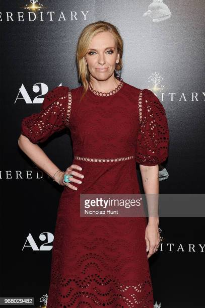 Toni Collette attends the Hereditary New York Screening at Metrograph on June 5 2018 in New York City