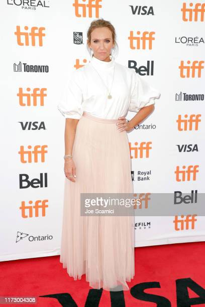 Toni Collette attends the Knives Out premiere during the 2019 Toronto International Film Festival at Princess of Wales Theatre on September 07 2019...