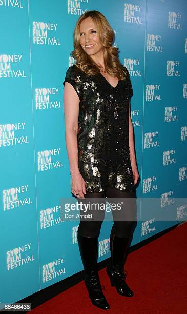 Toni Collette attends the World Premiere of 'Beautiful Kate' as part of the Sydney Film Festival 2009 at the State Theatre on June 13 2009 in Sydney...