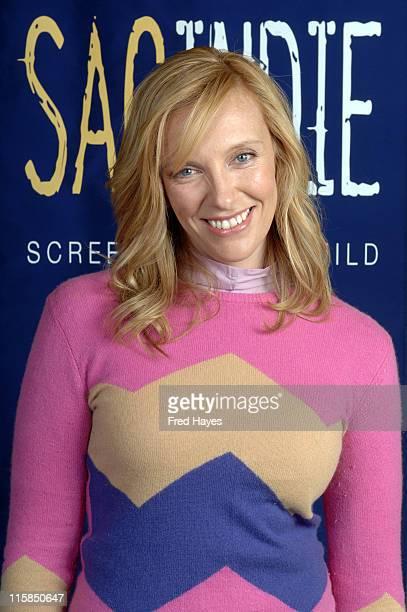 Toni Collette during 2006 Sundance Film Festival SAG Indie Brunch at Cafe Terigo in Park City Utah United States
