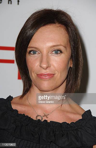 Toni Collette during 2007 AFI Awards Luncheon Arrivals at Four Seasons in Beverly Hills California United States