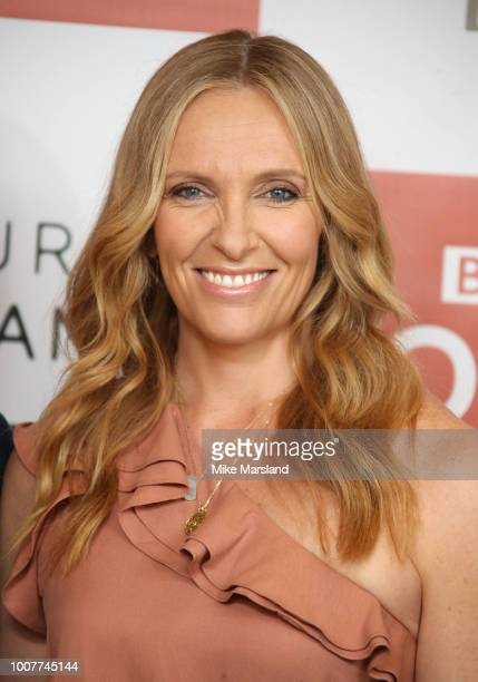 Toni Collette during a photocall for BBC One's 'Wanderlust' held at the Covent Garden Hotel on July 30 2018 in London England