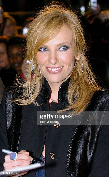 Toni Collette during 'In Her Shoes' London Premiere Arrivals at UCI Empire Leicester Square in London Great Britain