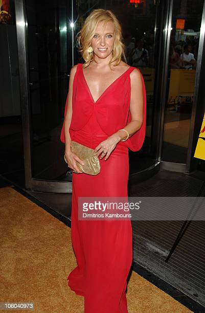 "Toni Collette during ""Little Miss Sunshine"" New York City Premiere - Inside Arrivals at AMC Loews Lincoln Square in New York City, New York, United..."