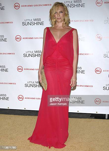 Toni Collette during 'Little Miss Sunshine' New York Premiere Inside Arrivals at AMC Loews Lincoln Square in New York City New York United States