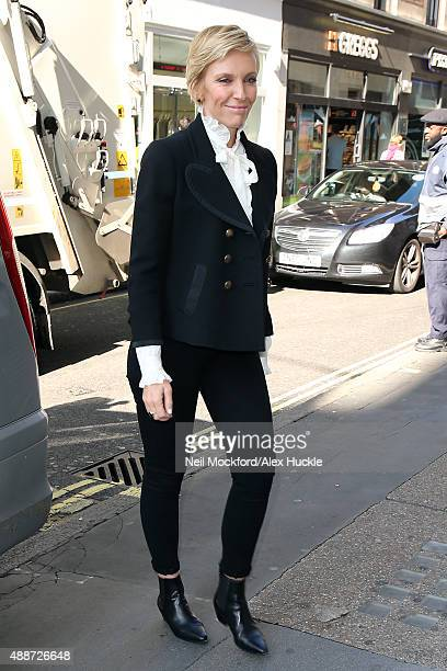 Toni Collette seen at Magic Radio on September 17 2015 in London England