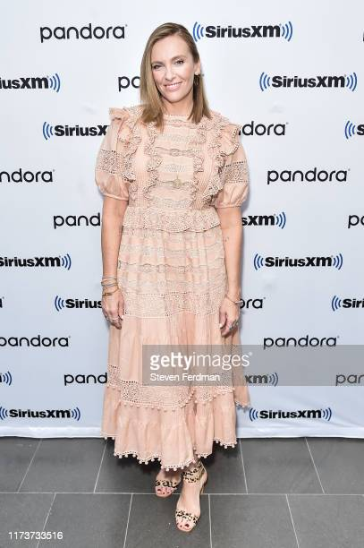 Toni Collette visits SiriusXM Studios on September 10 2019 in New York City