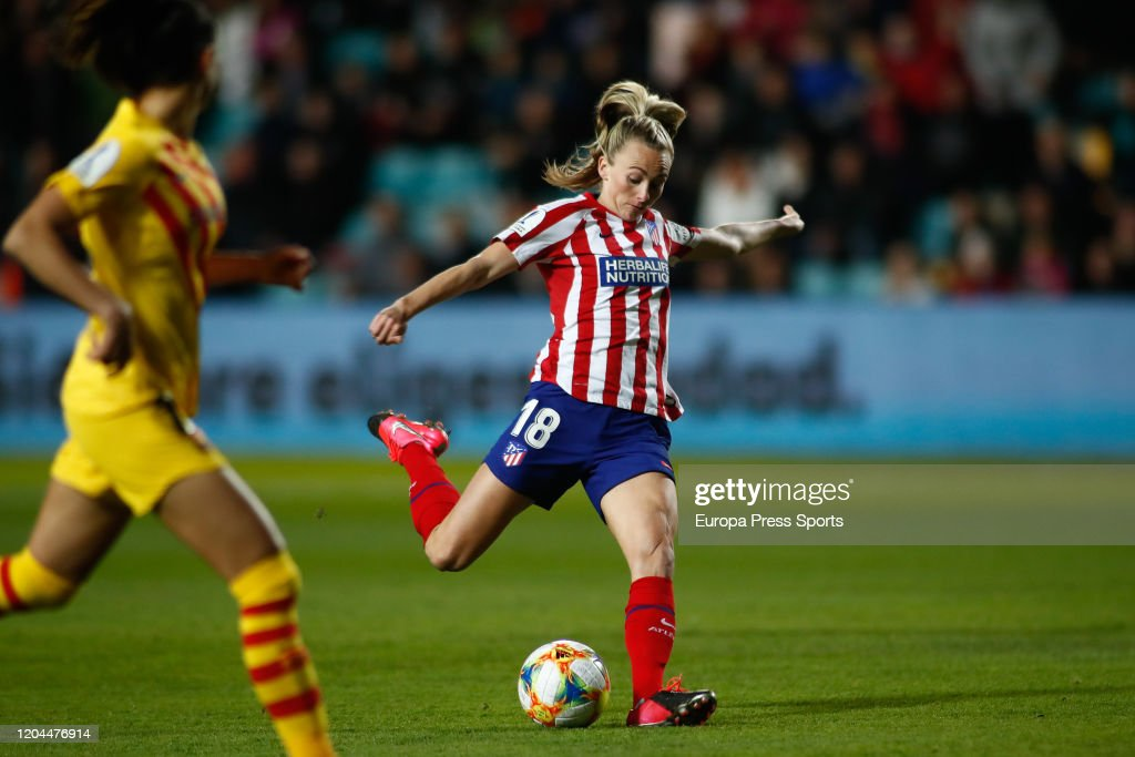 Women Spanish SuperCup: Atletico De Madrid V FC Barcelona : News Photo