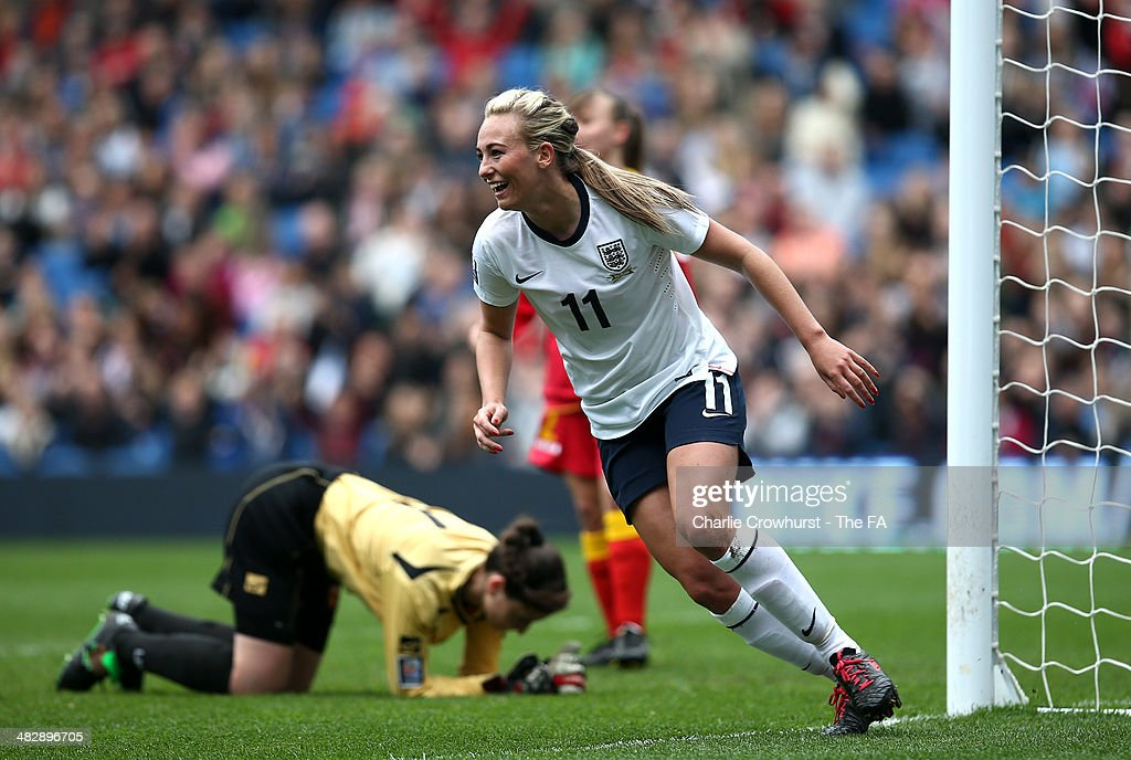 England v Montenegro: FIFA Women's World Cup Qualifier : News Photo