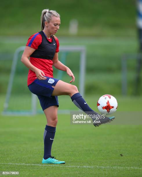 Toni Duggan of England Women during the England Training Session on August 2 2017 in Utrecht Netherlands