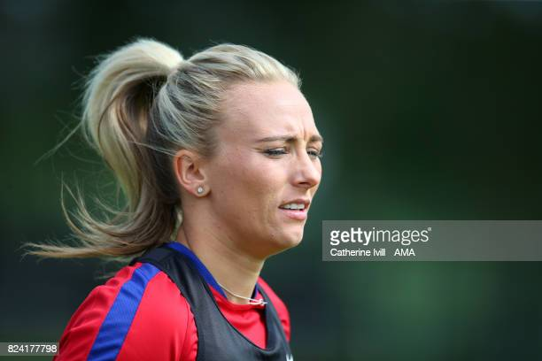Toni Duggan of England Women during the England Women's Training Session on July 29 2017 in Utrecht Netherlands