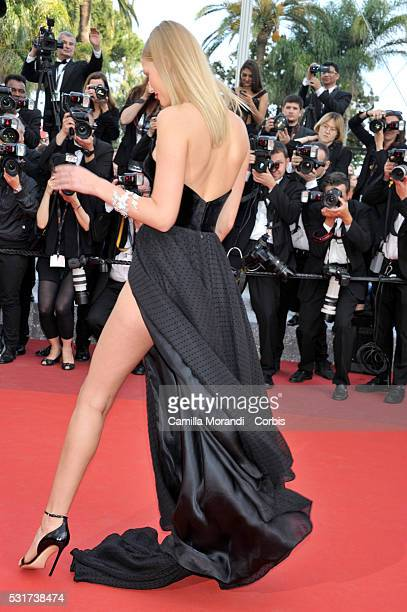 Toni Garn attends the 'Loving' Red carpet at the annual 69th Cannes Film Festival at Palais des Festivals on May 16 2016 in Cannes France
