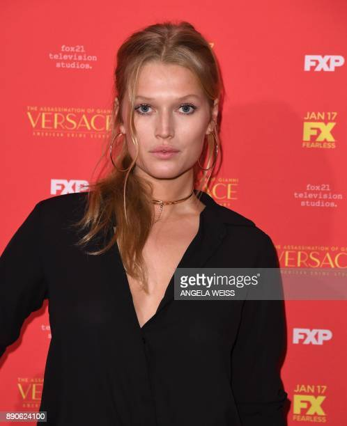 Toni Garn attends the premiere of 'The Assassination of Gianni Versace American Crime Story' at the Metrograph on December 11 in New York / AFP PHOTO...