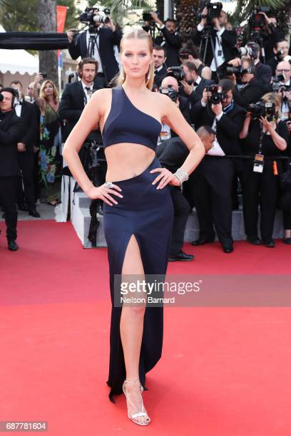 Toni Garn attends the 'The Beguiled' screening during the 70th annual Cannes Film Festival at Palais des Festivals on May 24 2017 in Cannes France