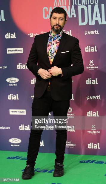 Toni Garrido attend the 'Cadena Dial' Awards 2018 red carpet on March 15 2018 in Tenerife Spain